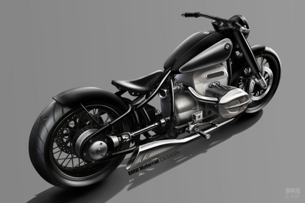 Design sketch for the 2019 BMW Concept R18