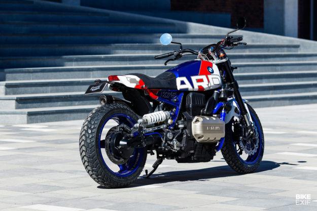 Arresting: An ex-police BMW K75 RT custom from Renard Speed Shop