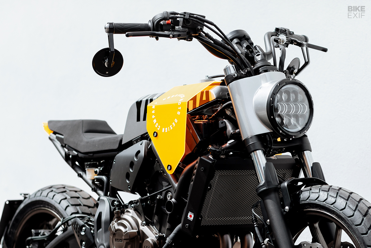 Yamaha XSR700 customized for the Yard Built program by Hookie Co.