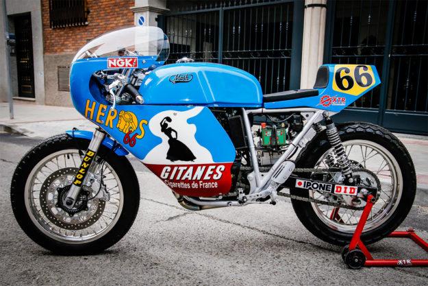 Mash TT40 cafe racer by XTR Pepo