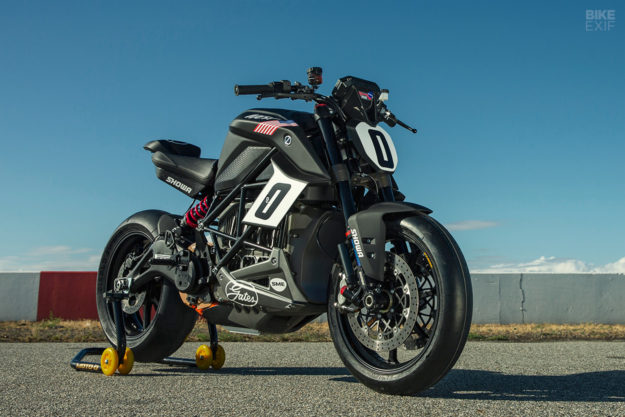 Racing To The Clouds: The Pikes Peak Zero SR/F
