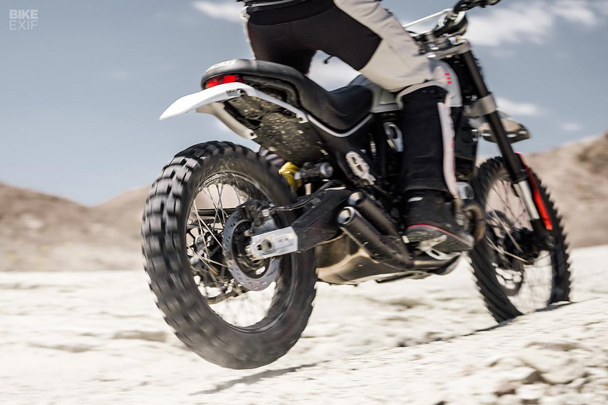 Ducati Scrambler Desert Sled conversion by Earle Motors