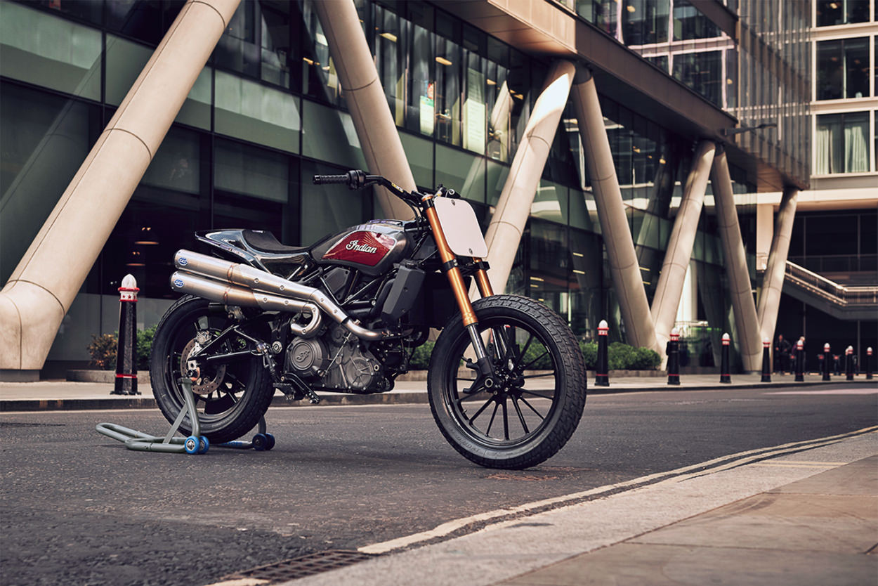 Indian FTR 1200 Race Bikes by S&S Cycle