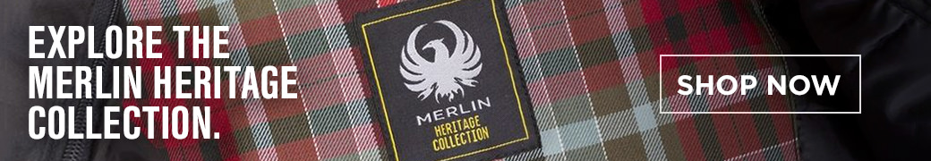 Shop the Merlin Heritage motorcycle gear collection