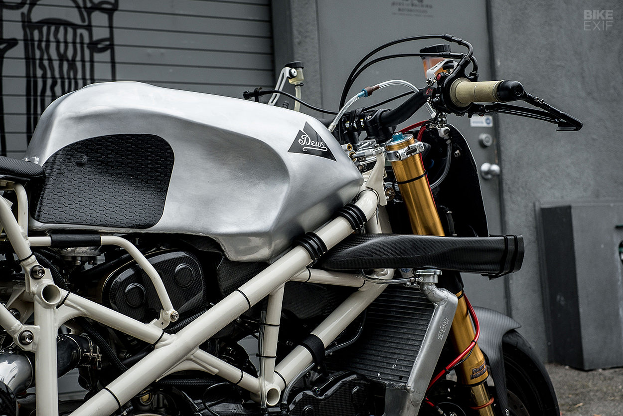 Pikes Peak hill climb motorcycle by Deus USA