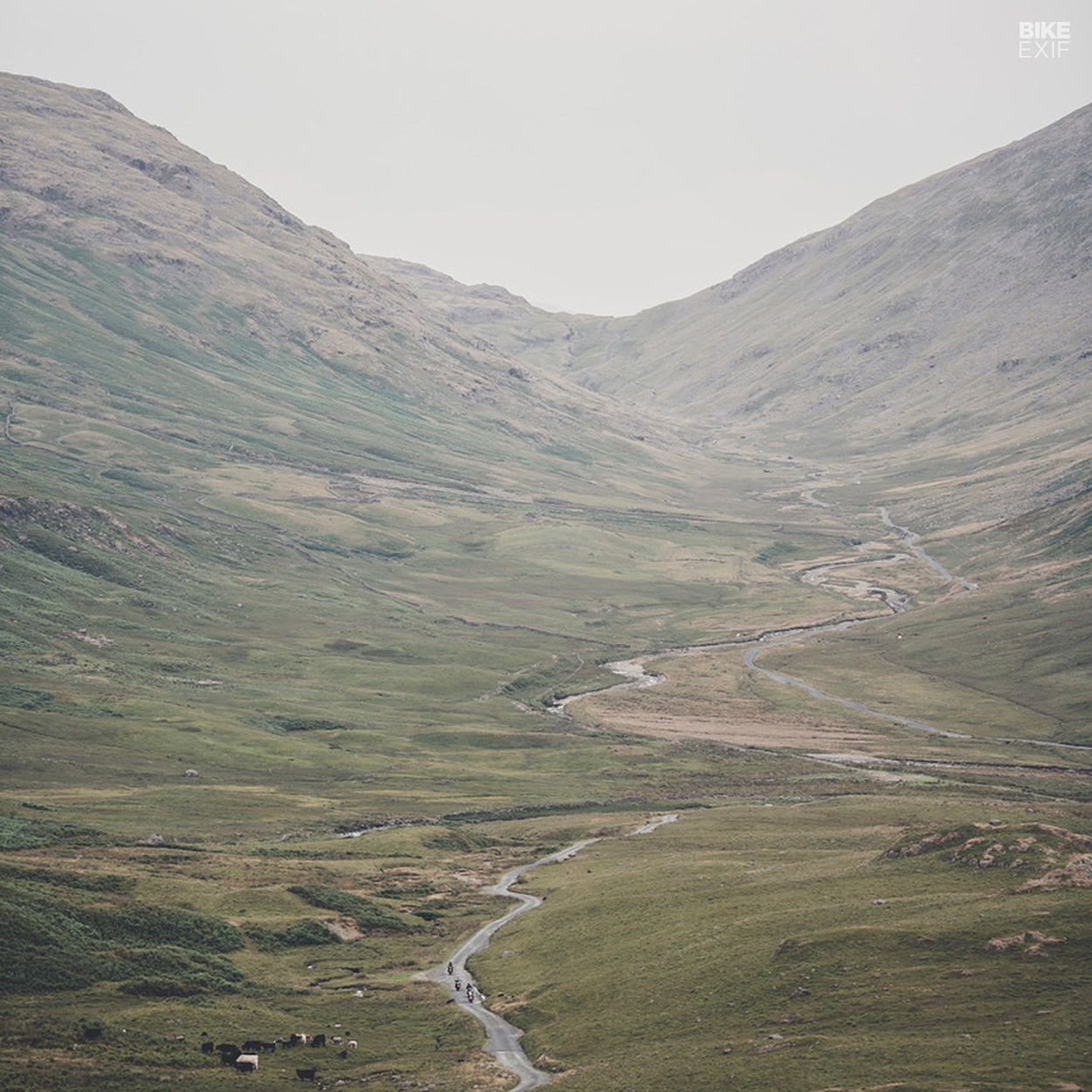 Hardknott Pass in the Lake District, part of the 2019 Great Malle Rally route