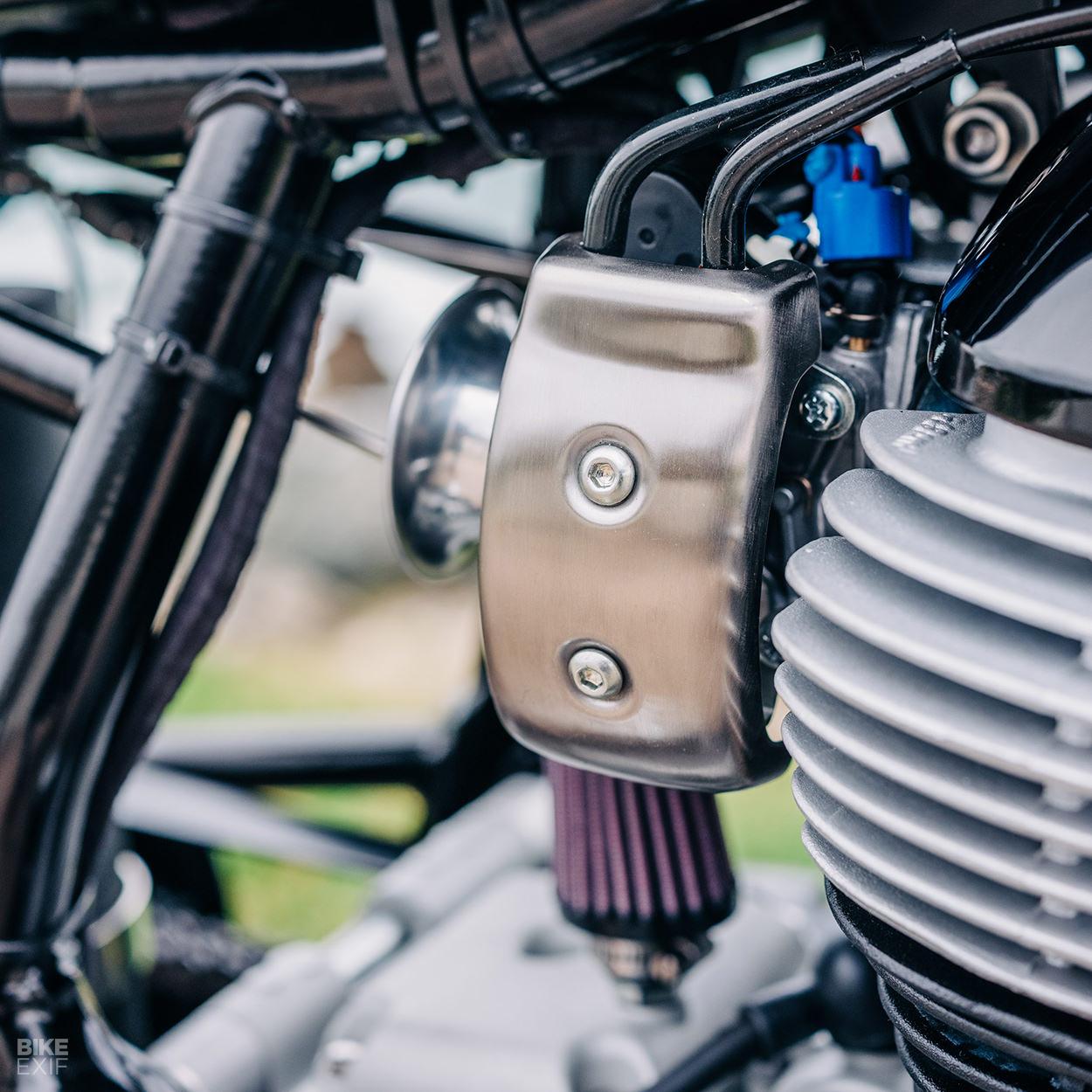 Royal Enfield Continental GT drag bike by Sinroja