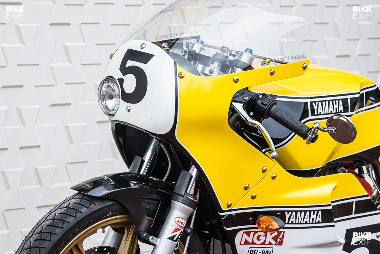 1983 Yamaha XZ 550 restomod