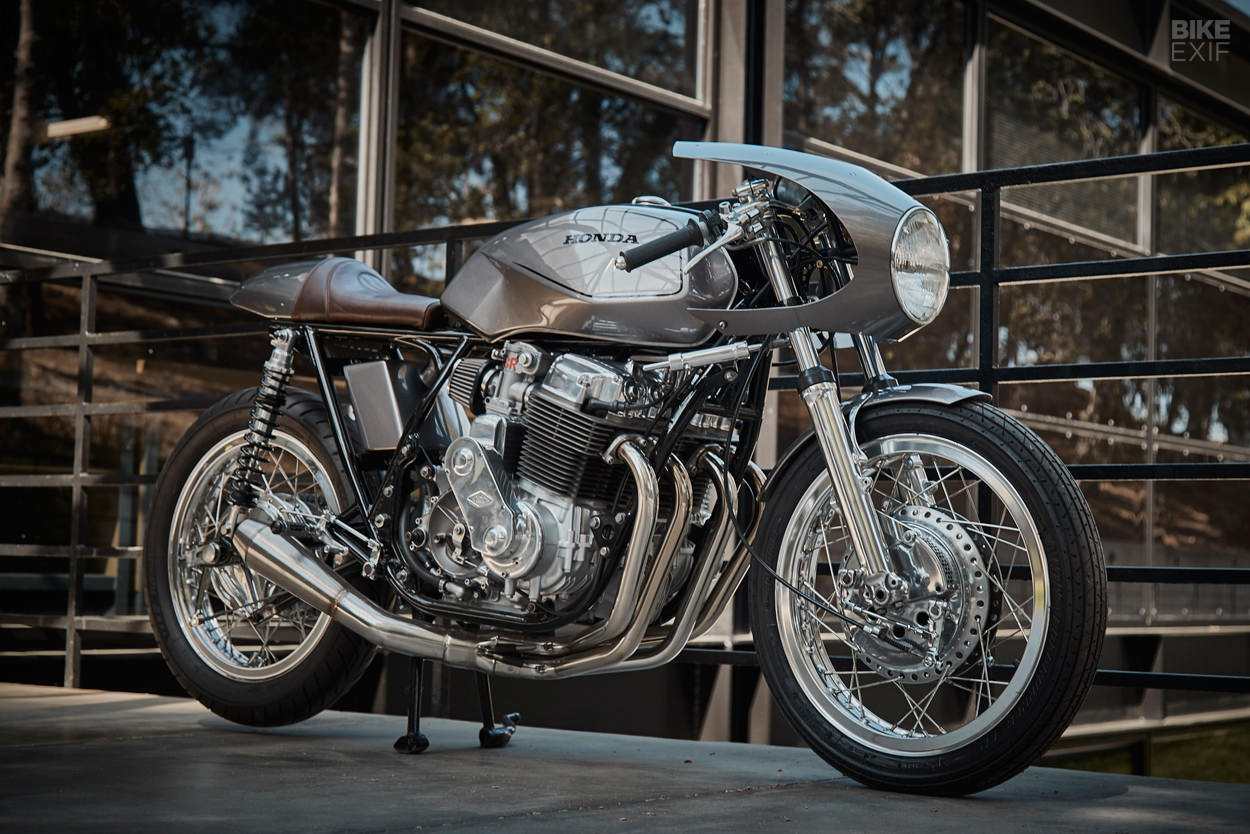 1974 Honda CB750 K4 cafe racer by Raccia Motorcycles