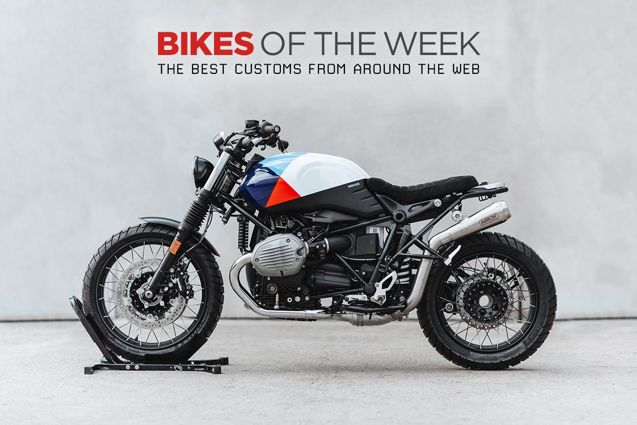 The best cafe racers, custom enduros and motorcycle movies from around the web.