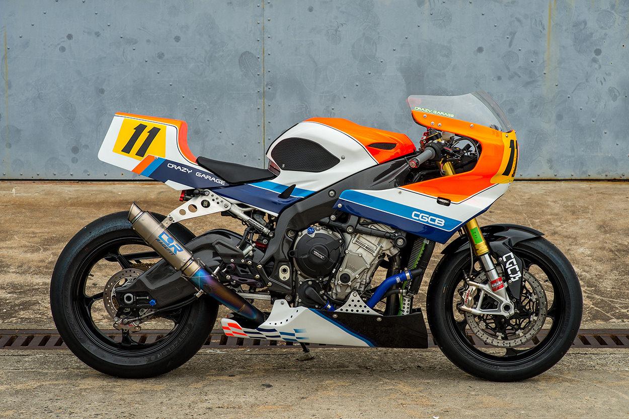 Custom BMW S1000RR by Crazy Garage
