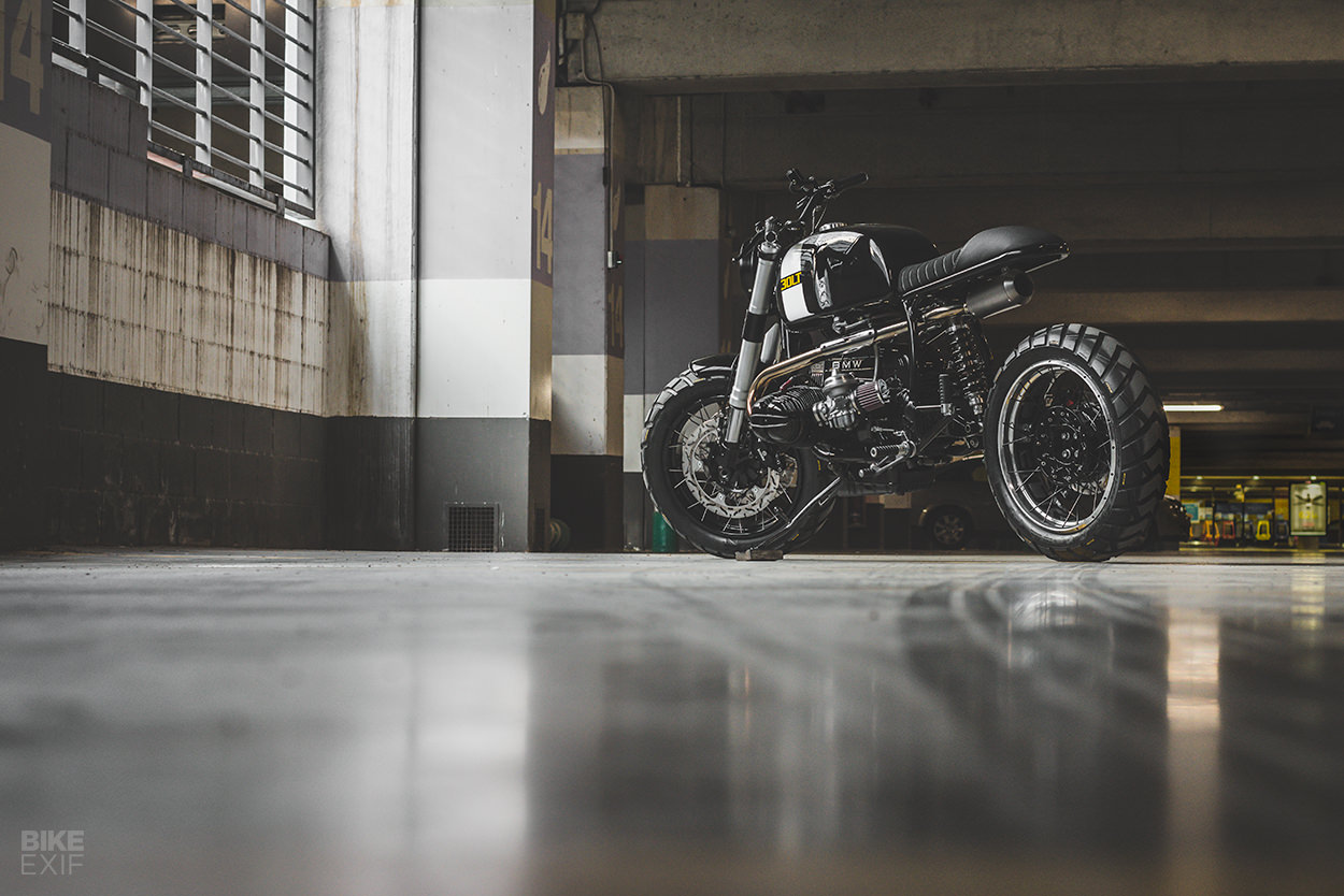 BMW R100 RT street scrambler by Bolt Motor Co.