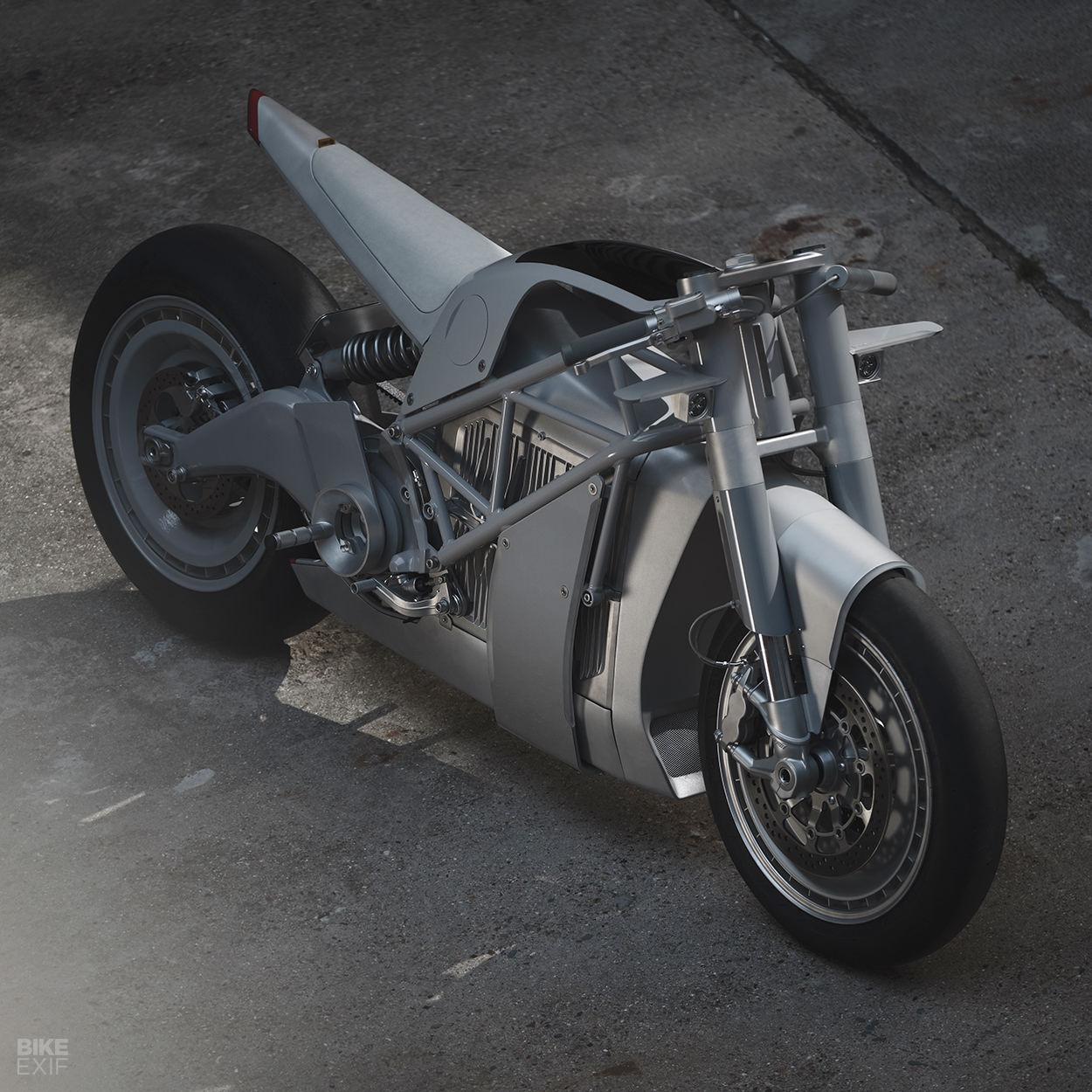 Custom Zero SR/F by Untitled Motorcycles
