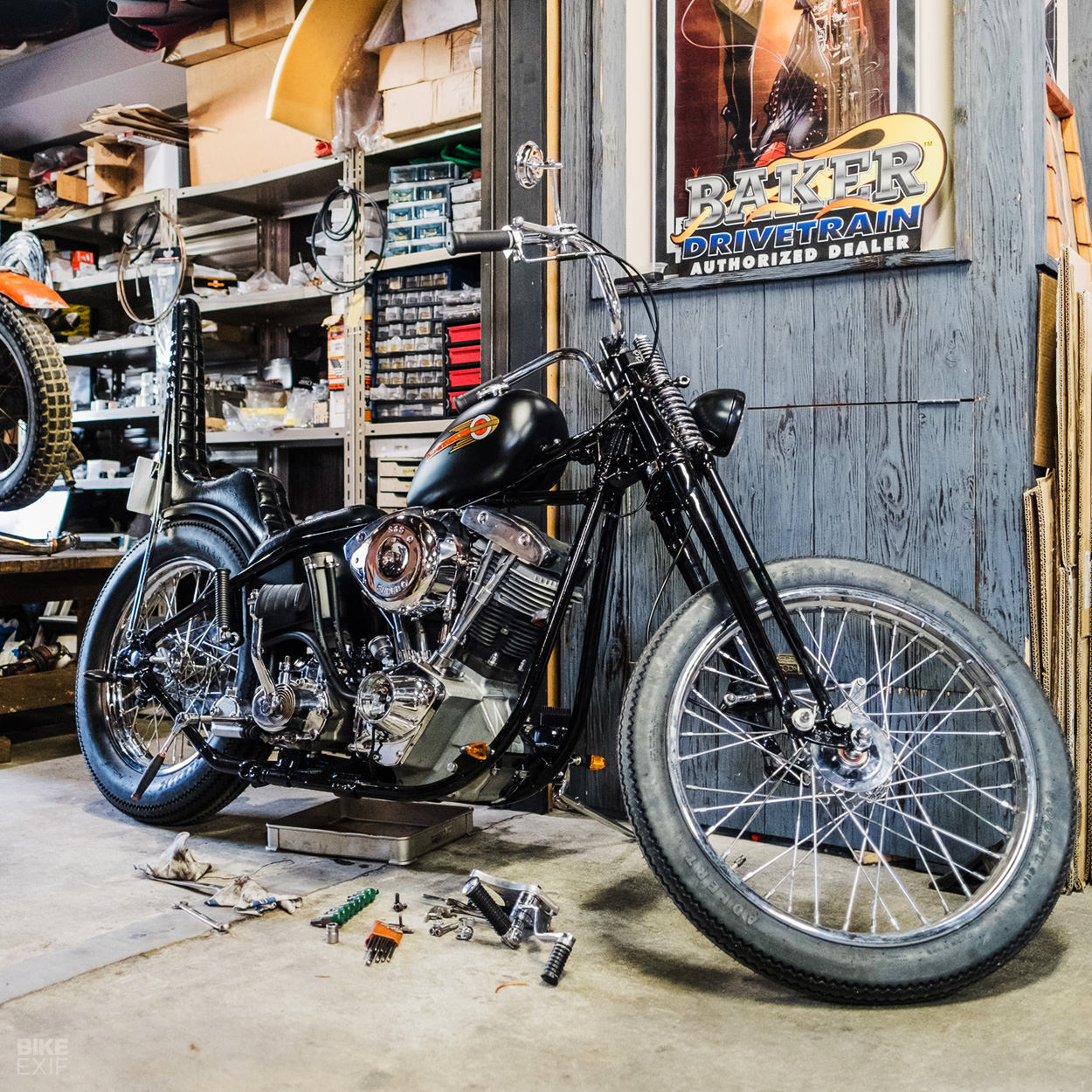 CW Zon Japanese custom motorcycle workshop