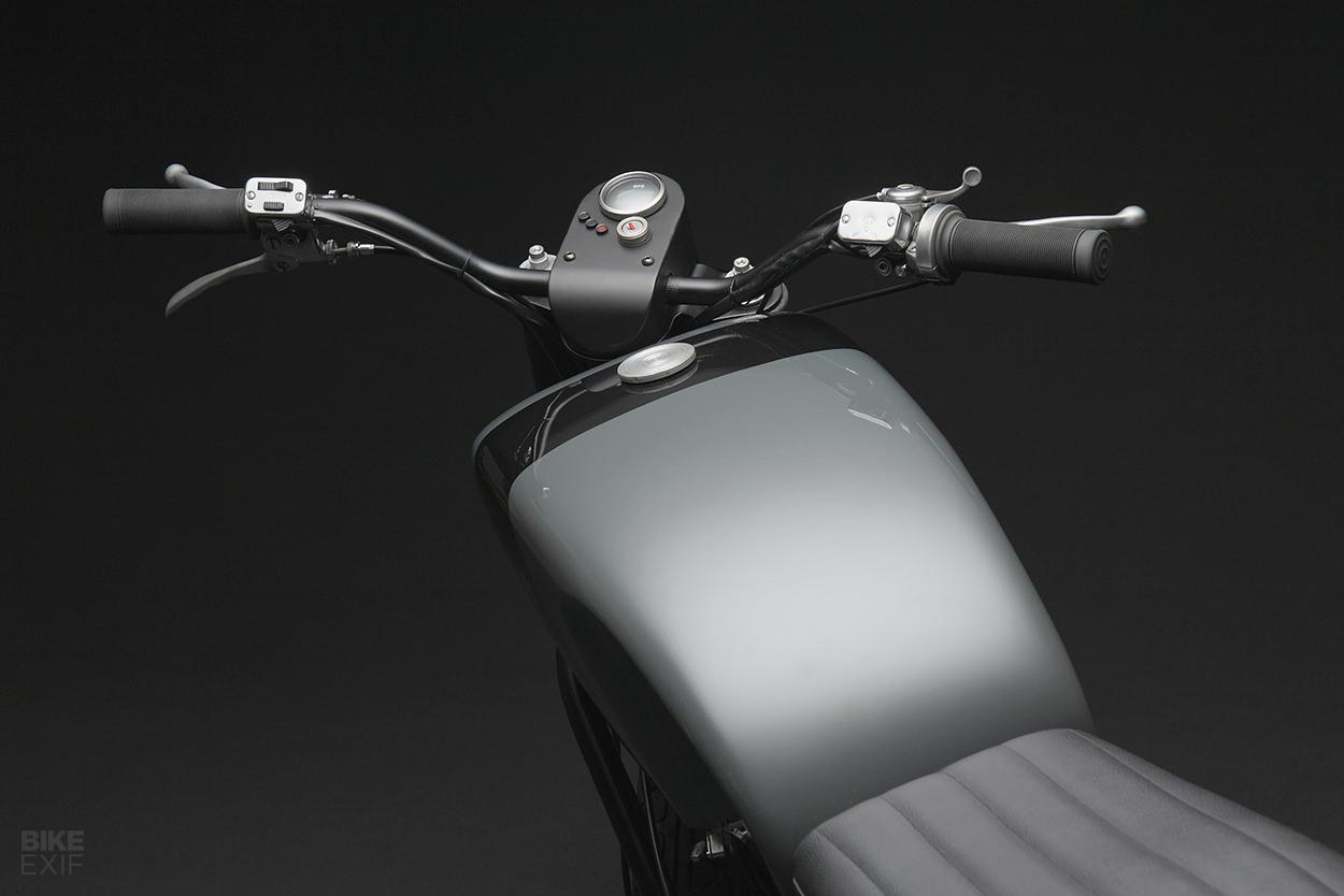 The Guzzi Nuovo Falcone reimagined for 2020 by Venier Customs