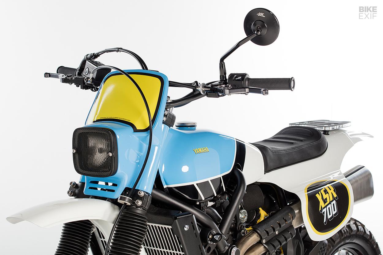 Yamaha Scrambler: An XSR700 that evokes the classic IT enduros