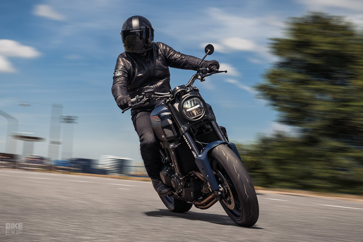 Yamaha XSR900 custom by JvB-Moto