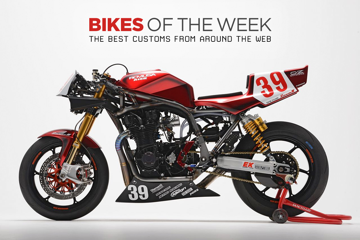 The best cafe racers, flat trackers and classics from around the web