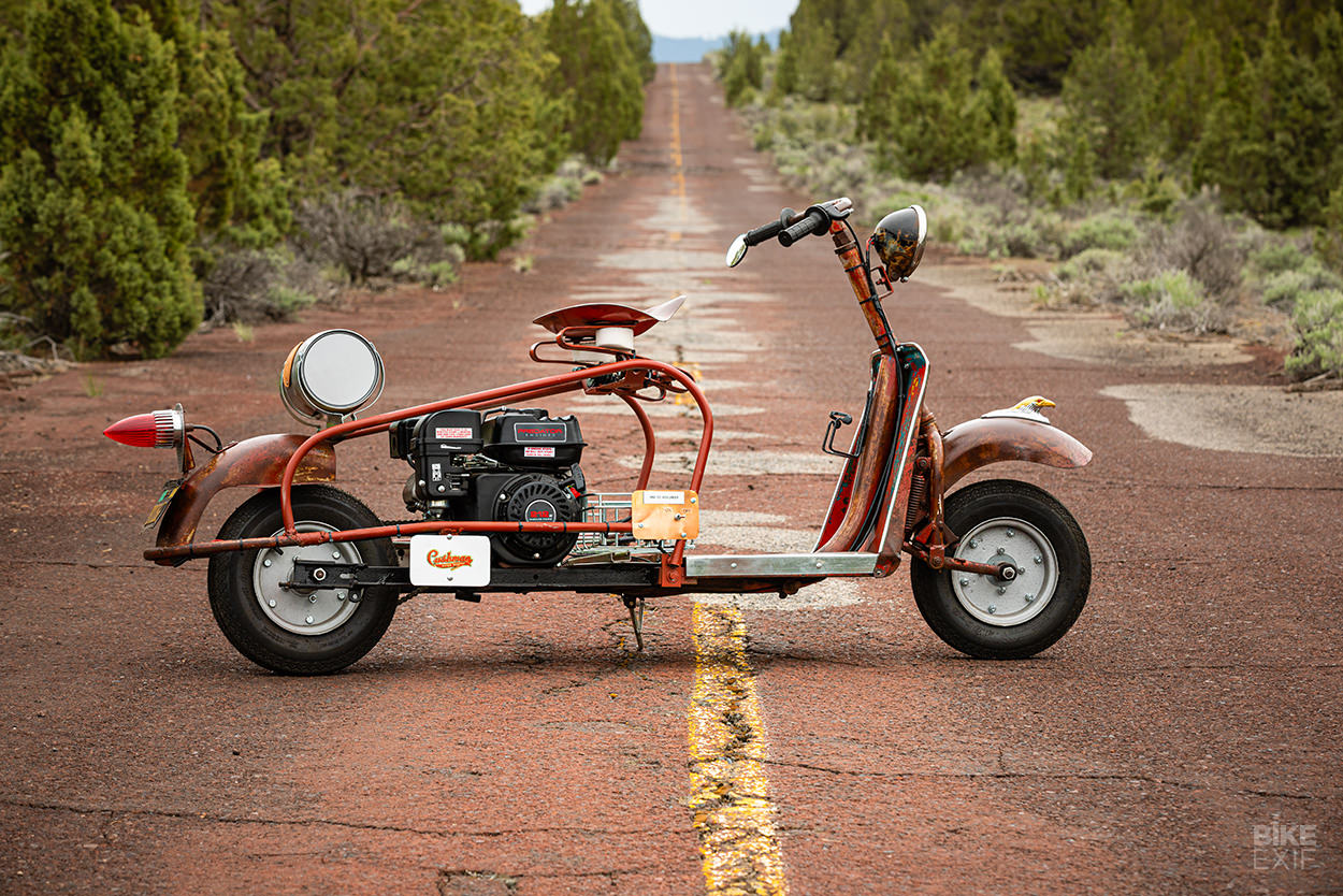 Pocket-sized Patina: the Cushman Scooters of Colby Thompson